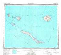 Topo map Rat Islands Alaska