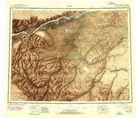Topo map Ruby Alaska