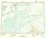Topo map Russian Mission Alaska