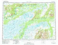 Topo map Russian Mission Alaska