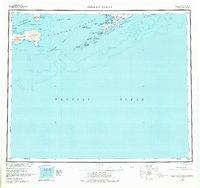 Topo map Samalga Island Alaska