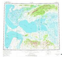 Topo map Selawik Alaska