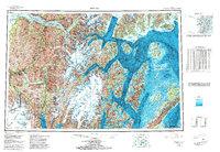Topo map Seward Alaska