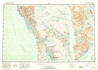 Topo map Sitka Alaska
