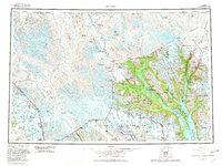 Topo map Skagway Alaska