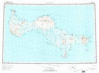 Topo map St Lawrence Alaska