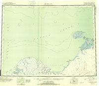 Topo map St Michael Alaska