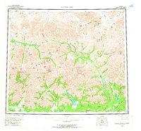 Topo map Survey Pass Alaska