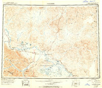 Topo map Tanacross Alaska