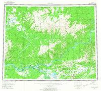 Topo map Tanana Alaska