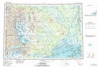 Topo map Tyonek Alaska