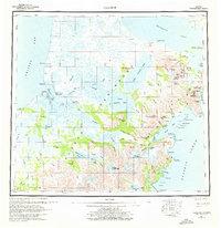 Topo map Ugashik Alaska