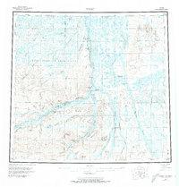 Topo map Umiat Alaska