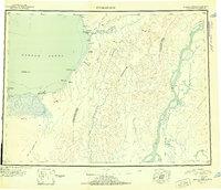 Topo map Unalakleet Alaska