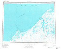 Topo map Wainwright Alaska