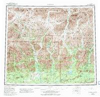 Topo map Wiseman Alaska