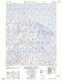 Topo map Harrison Bay B-3 Alaska
