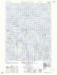 Topo map Harrison Bay D-5 Alaska