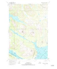 Topo map Afognak A-3 Alaska
