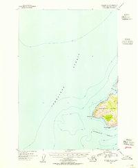 Topo map Afognak A-5 Alaska