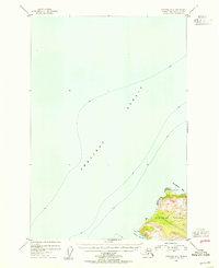 Topo map Afognak B-4 Alaska