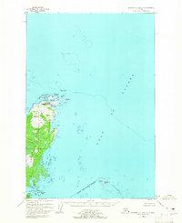 Topo map Afognak C-1 and C-2 Alaska
