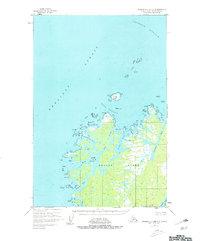 Topo map Afognak C-2 and C-3 Alaska