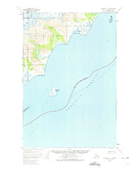 Topo map Afognak C-5 Alaska