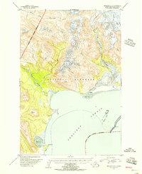 Topo map Afognak C-6 Alaska