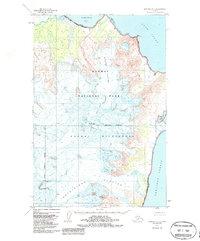 Topo map Afognak D-5 Alaska