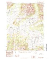 Topo map Ambler River A-2 Alaska