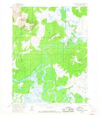 Topo map Ambler River A-4 Alaska
