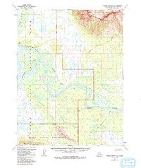 Topo map Ambler River A-5 Alaska