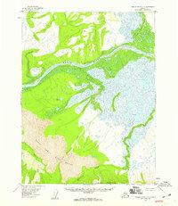 Topo map Ambler River A-6 Alaska