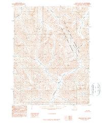 Topo map Ambler River B-1 Alaska