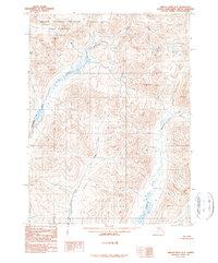 Topo map Ambler River B-3 Alaska