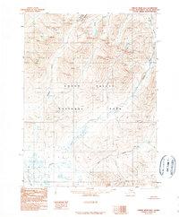 Topo map Ambler River B-5 Alaska