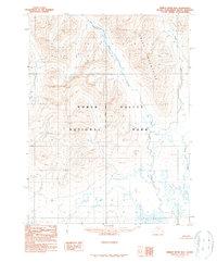 Topo map Ambler River B-6 Alaska