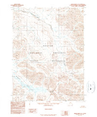 Topo map Ambler River C-3 Alaska