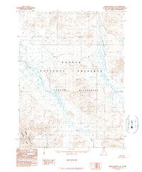 Topo map Ambler River C-4 Alaska