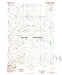 Topo map Ambler River D-6 Alaska