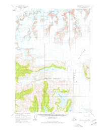Topo map Anchorage A-1 Alaska