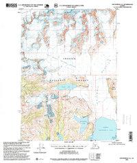 Topo map Anchorage A-1 Alaska