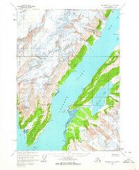 Topo map Anchorage A-3 Alaska