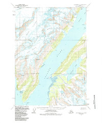 Topo map Anchorage A-3 Alaska