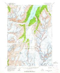 Topo map Anchorage A-5 Alaska