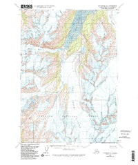 Topo map Anchorage A-5 Alaska