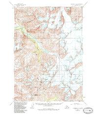Topo map Anchorage A-6 Alaska