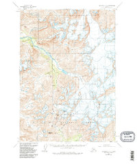 Topo map Anchorage A-6 Alaska