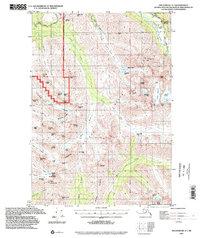 Topo map Anchorage A-7 Alaska